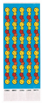 HAPPY FACE WRISTBAND - 100 CT