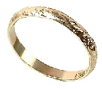 Anillos Gold Wedding Band Table Sprinkles 88