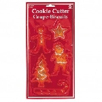 5 Cookie Cutters Christmas 10.2 cm