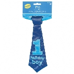 Corbata 1st Birthday Blue Fabric Tie 23cm