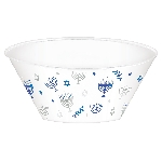 Bowl plastic. Happy Hanukkah Hot Stamped Plastic 3.5lts