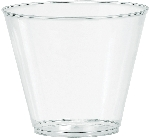 Vaso grande 266ml 100ct plas:clear