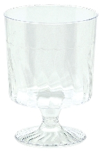 MINI PEDISTAL GLASS - CLEAR