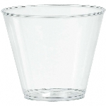 Vaso grande 9 OZ PL-CLEAR 20CT