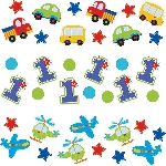 Confeti All Aboard Birthday 3 Pack Value