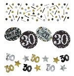 Confeti Gold Sparkling Celebration 30th 34g