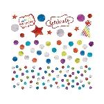 Confeti Rainbow Sequin Foil & Paper 34g
