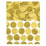 Confeti Gold Foil Circle 63g