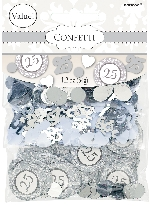 Confeti Silver-25th Anniversary Value Pack Mix