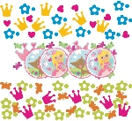Confeti Woodland Princess 3 Pack Value 34g