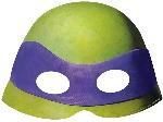 Mascara TeenEdad Mutant Ninja Turtles Card Masks