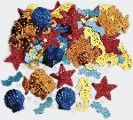 Confeti Sea Life Embossed Metallic Mix 14g