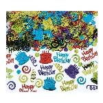 Confeti Happy Birthday Foil 141g