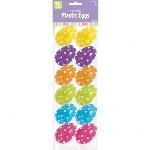 Huevos de Pascua Polka Dot para Rellenar - 6cm