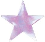 Recortable 22.7cm STAR iridescent