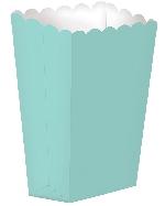 Caja Palomitas LG Azul Turquesa