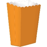 Cajas Orange Small Paper Popcorn