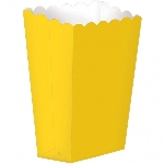 Cajas Yellow Small Paper Popcorn