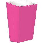 Cajas Bright Pink Small Paper Popcorn