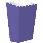 Cajas Purple Small Paper Popcorn