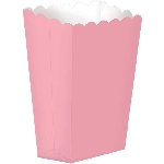 Cajas Light Pink Small Paper Popcorn
