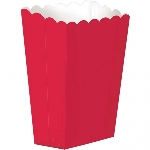 Cajas Red Small Paper Popcorn