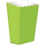 Cajas Kiwi Green Small Paper Popcorn