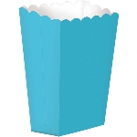 Cajas Caribbean Blue Small Paper Popcorn