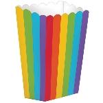 Cajas Rainbow Small Popcorn 6.3cm x 13.3cm x 3.8cm