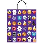 Bolsa Plastico Emoji Halloween 40Cm X 35Cm