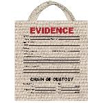 Evidence Canvas Treat Bag 34Cm X 35Cm