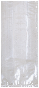Bolsa Clear Large Plastic 29cm h x 12.5cm w