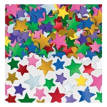 Confeti Multi Colour Star 141g