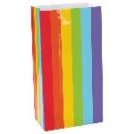 Bolsa papel Rainbow PackEdadd 12.7cm x 24cm x 7.6cm