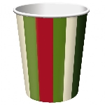 VASO 266ml HOLIDAY STRIPE OFERTA