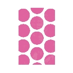 Bolsa Candy Buffet Polka Dots  Bright Pink