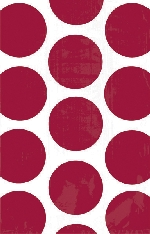 Bolsa Candy Buffet Polka Dots  Apple Red