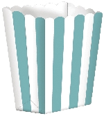 Bolsa Candy Buffet Popcorn Boxes Robin Egg Blue