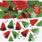 Confetti Christmas Trees Metallic 14 g