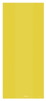 Bolsa Yellow Small Plastic 24cm h x 10cm w