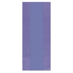 Bolsa Purple Small Plastic 24cm h x 10cm w