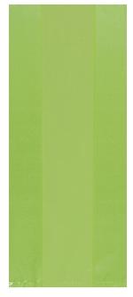 Bolsa Kiwi Green Small Plastic 24cm h x 10cm w