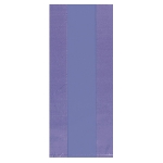 Bolsa Purple Large Plastic 29cm h x 12.5cm w