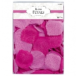 Decoracion Bright Pink Fabric Confetti Petals 0