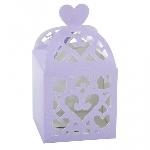 Cajas Lilac Favours Lantern Boxes
