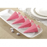 Cajas Light Pink Favours Cone Boxes