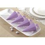 Cajas Lilac Favours Cone Boxes