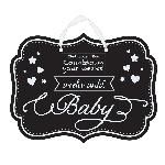 TizaBOARD Pancarta WKS UNTIL BABY