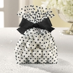 Bolsas TREAT con BOW Negro