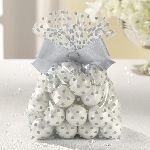 Bolsas TREAT con BOW SILVER
